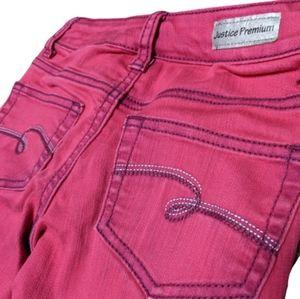 3/$20 Justice Premium Girls Jeans Size 10